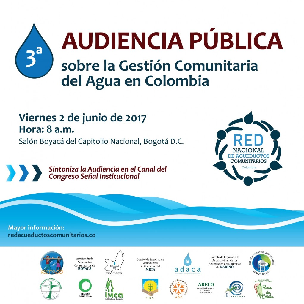 invitación 3ra audiencia red